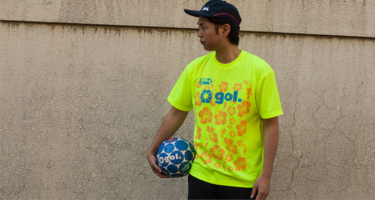 gol. hibiscus shirt